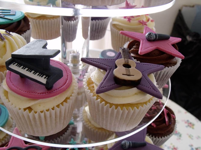 Music Themed Cakes Uk